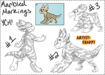 YCH - Marble Markings Auction [CLOSED] by Wyngrew