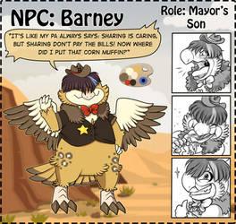 NPC: Barney by Wyngrew