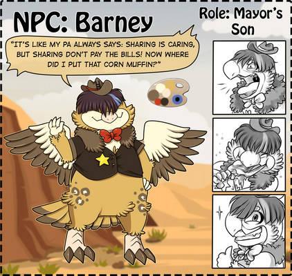 NPC: Barney