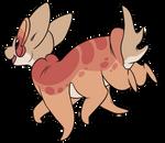 Runeboo: Peachy Loaf by Wyngrew