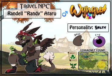 Travel NPC: Randy by Wyngrew