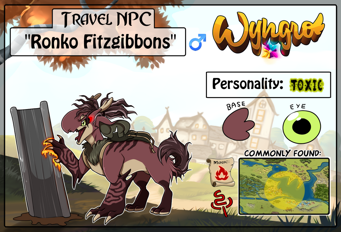 Travel NPC: Ronko