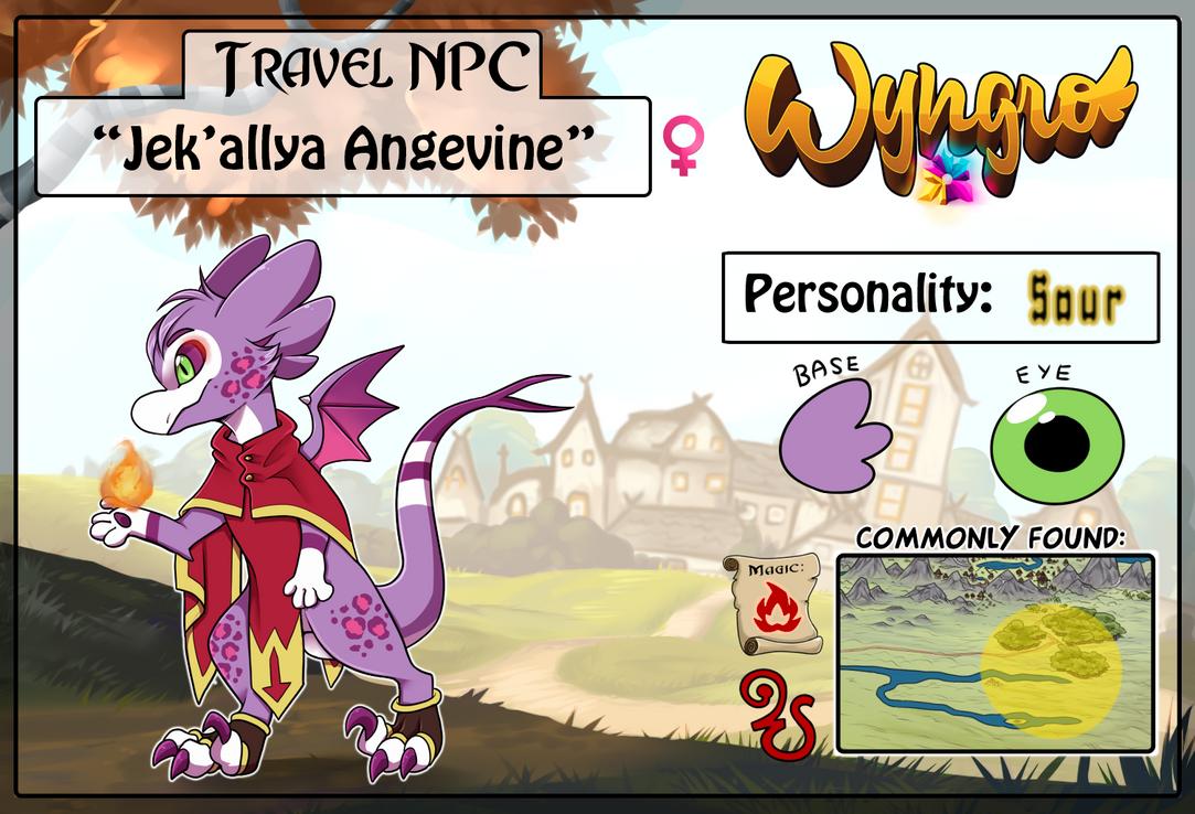 Travel NPC: Jek'allya