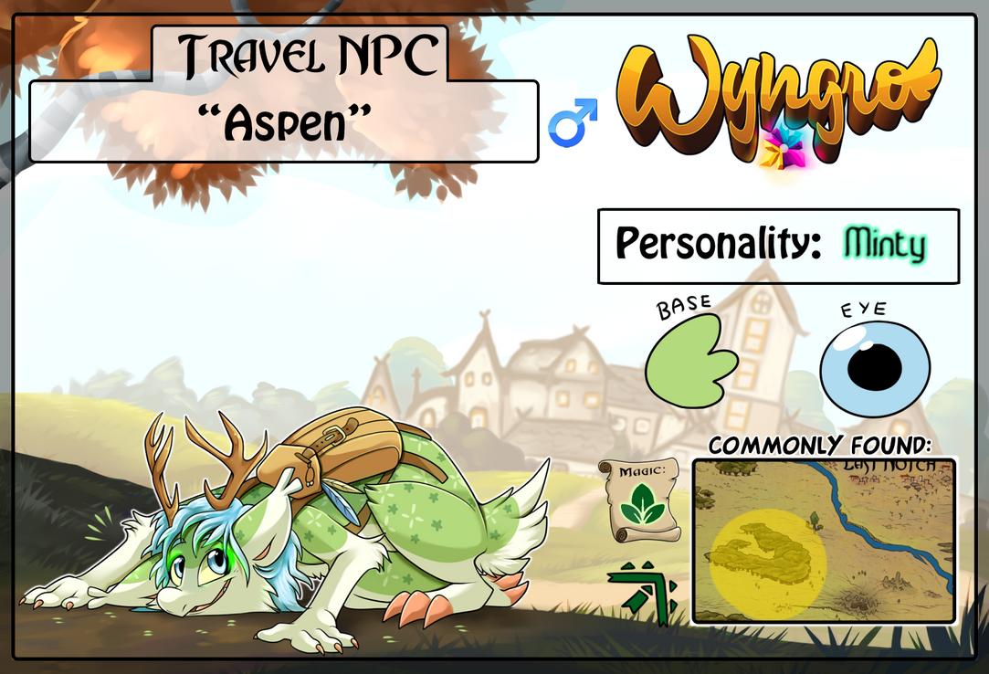 Travel NPC: Aspen