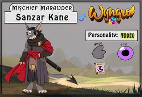 Mischief Marauder: Sanzar