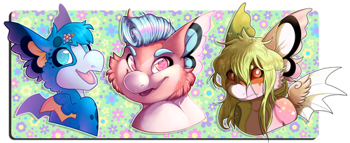 YCH - Flutter Ears [complete]