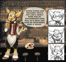 NPC: Ernie by Wyngrew