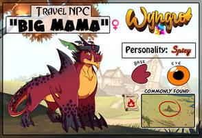 Travel NPC: Big Mama