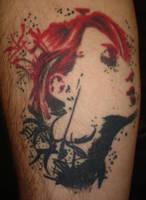 The Widow tattoo by WTelmark