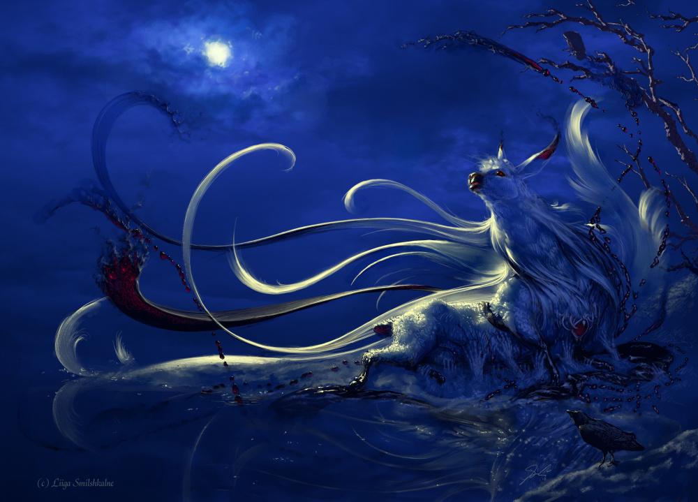 Drama Llama liiga fantasy black dramatic fantasy blue blood deviantart mascot