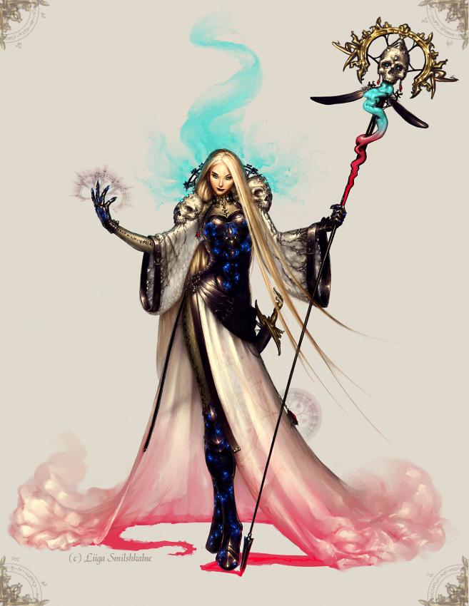 Sorceress Ryth by liiga