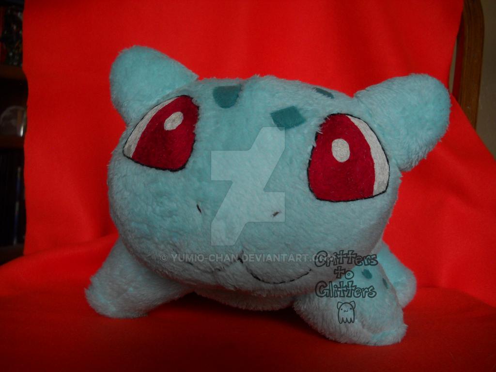 Minky Bulbasaur WIP 1 by Yumio-chan