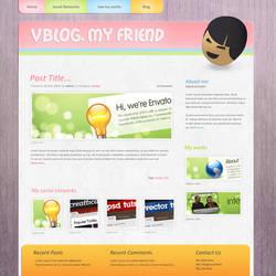 Pinkage theme by vdesigner