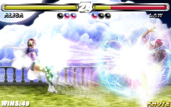 Tekken 6 Br Alisa Vs Law By Khotebabu