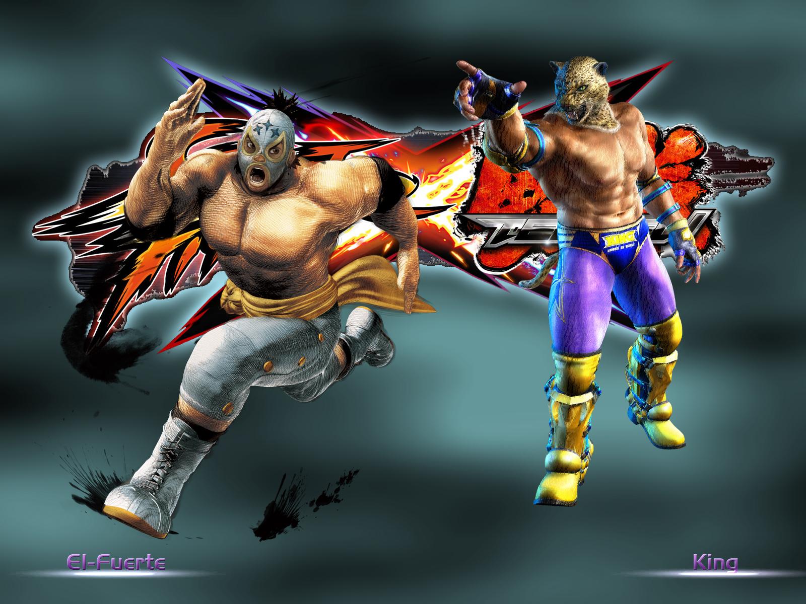 El Fuerte vs King - SFxTekken by khotebabu