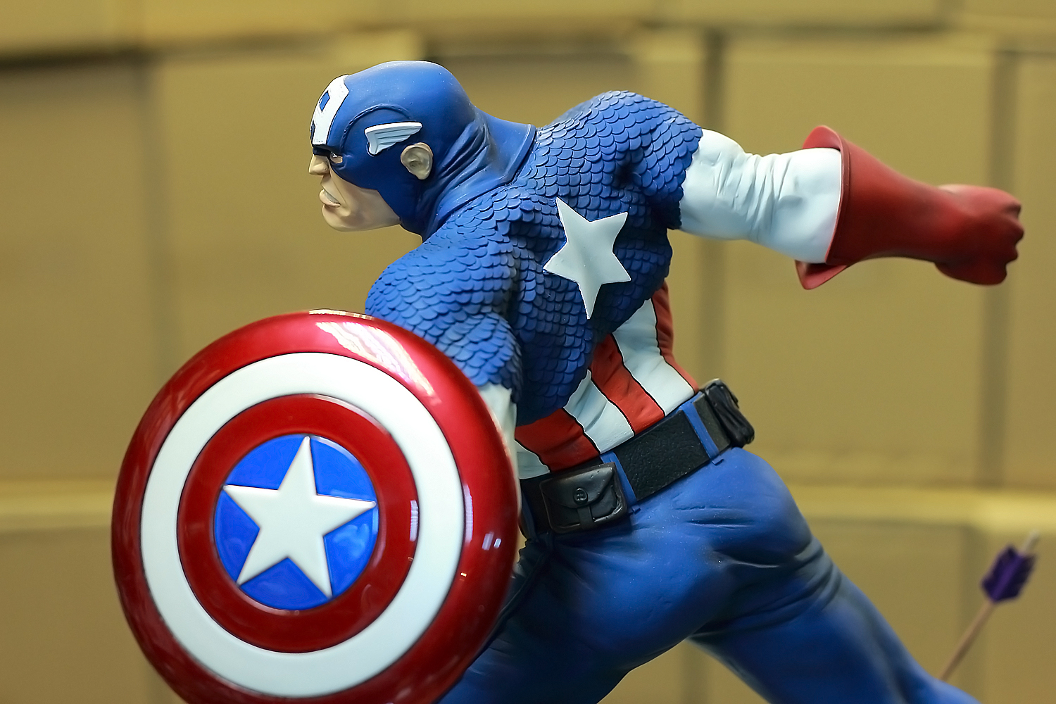Captain America Painted 01 By Mufizal On DeviantArt