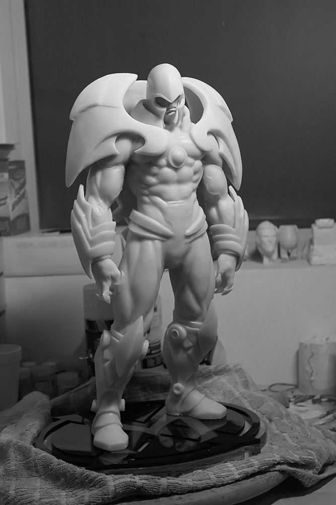 Onslaught casted in resin by mufizal