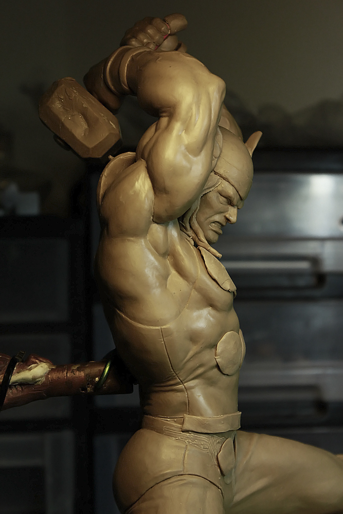 Classic Thor WIP 5 by mufizal