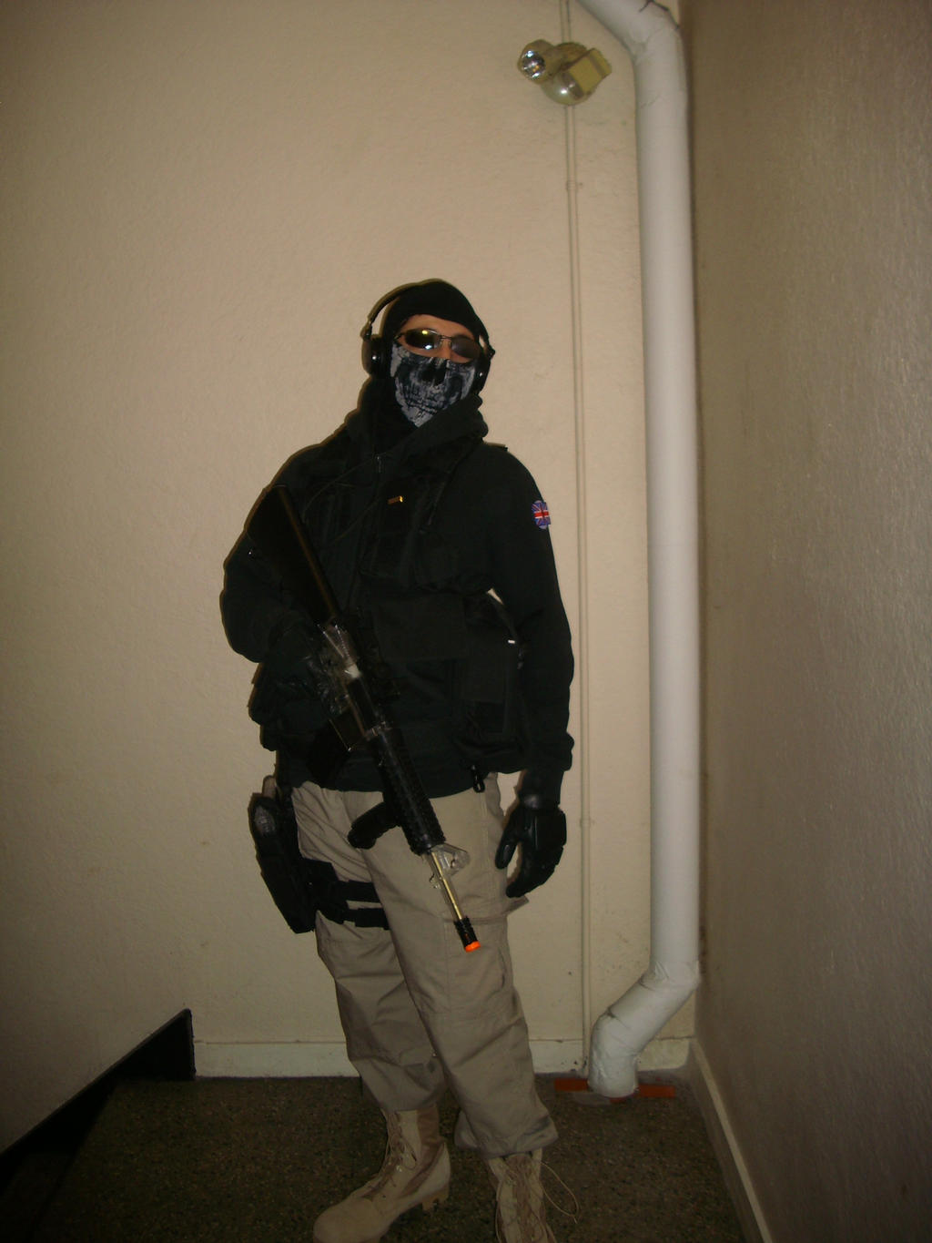 MW2 Ghost Unfinished Cosplay by TCClone on DeviantArt