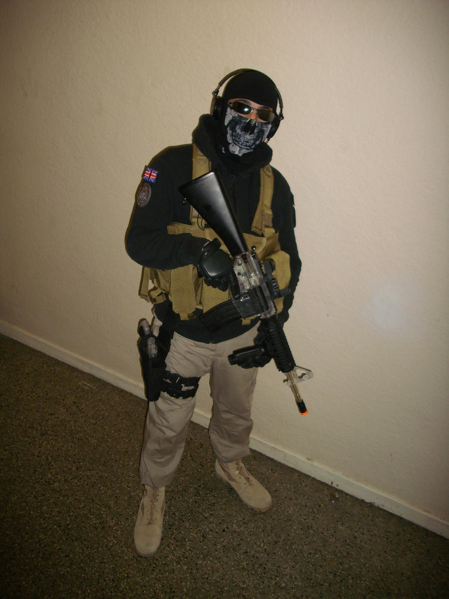 MW2 Ghost Cosplay Almost Done by TCClone on DeviantArt