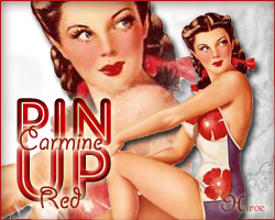 Pin Up Girls - Carmine Red by hiroe90