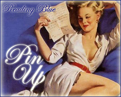 Pin Up Girls - Reading Blue by hiroe90