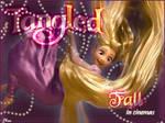 Rapunzel falling - Tangled