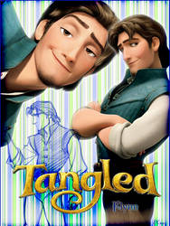 Flynn - Tangled Poster by hiroe90