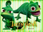 Pascal - Tangled Poster