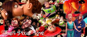 That's Pixar LOVE