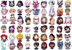 Art Fight 2020 emotes