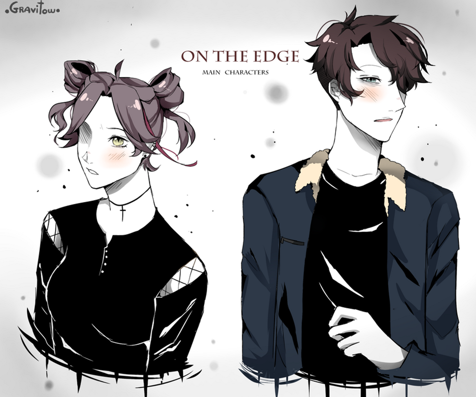 On the edge(manga) [the main characters] by Gravitown