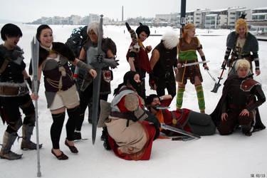 Dragon Age at Desucon 2013 by Zanna-kun