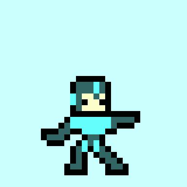 Mega Man blast gif by Cheetogod