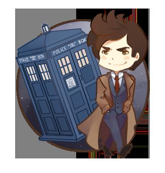 Chibi: 10th Doctor by xephia