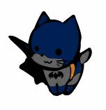Blinking Batcat by xephia