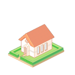 Isometric Pixel House