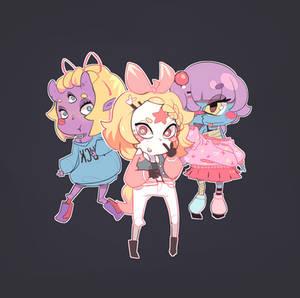 Team Monster Girl