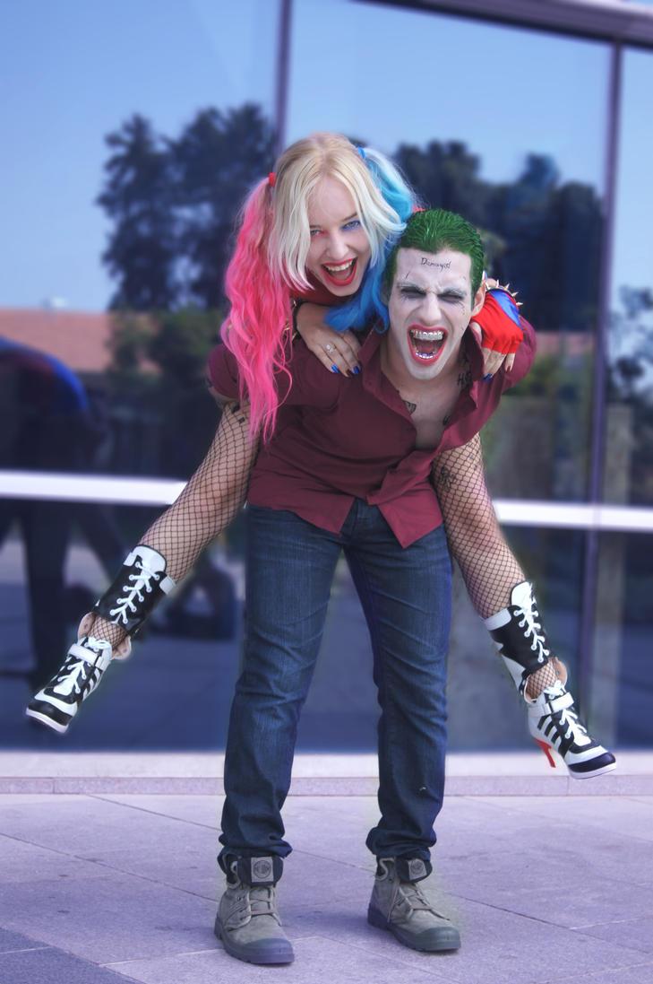 joker and harley quinn costumes