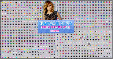 +MEGAPACK DE STYLES POR +700 WATCHERS