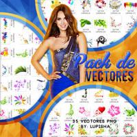 PACK DE VECTORES by LupishaGreyDesigns