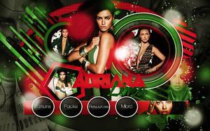 +Adriana Lima by LupishaGreyDesigns