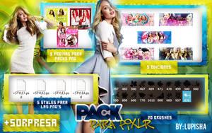 PACK PARA PIXLR by LupishaGreyDesigns