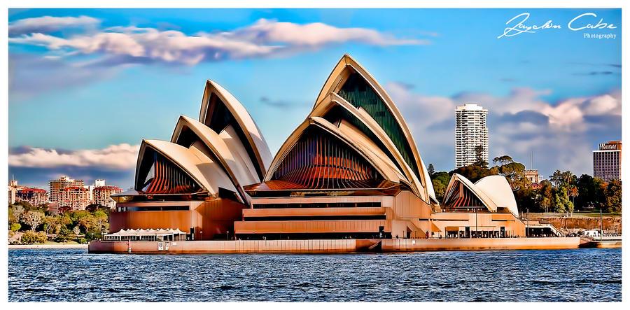 Opera House Cartoon Sydney Opera House by