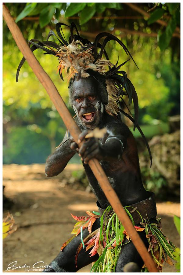 Vanuatu Worrier by jaydoncabe