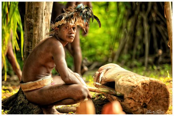 Walla Island warrior by jaydoncabe
