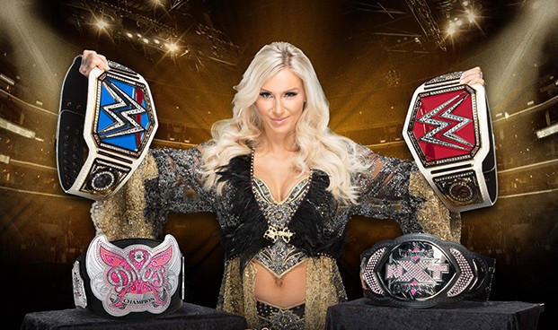 Charlotte Flair WWE And NXT Championship History by T-Dexter on ...