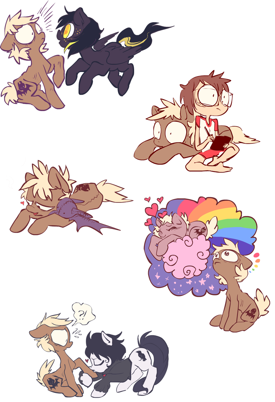 Forty Winks doodle dump by ponywise