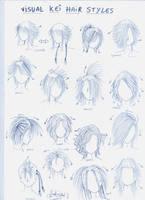 Visual kei hair styles by genshiken-rj