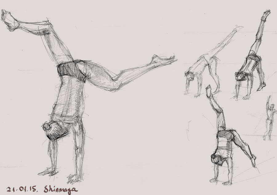 Figure Drawing Practice 21.01.15 by LoonyFred on DeviantArt